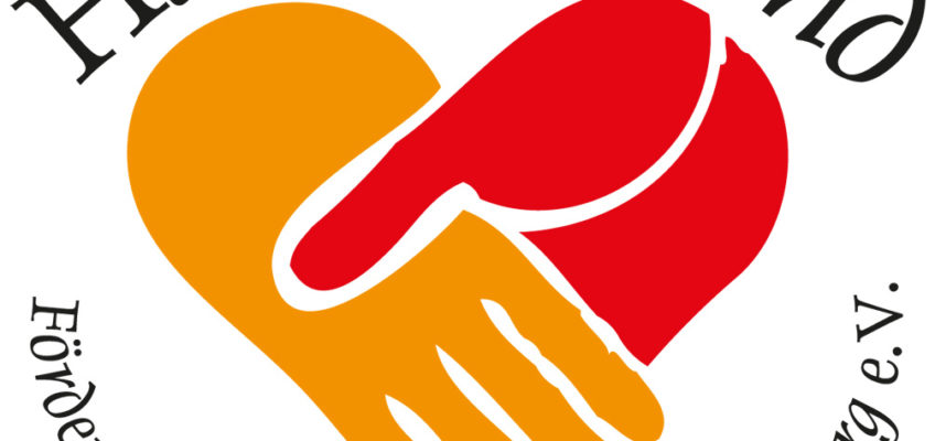 "Das Logo von ""Hand in Hand - Förderverein der Lebenshilfe Bamberg e.V."""
