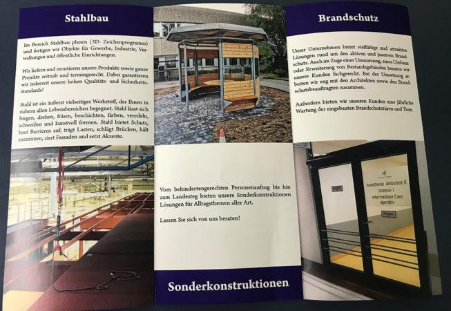 KAMetallbau GmbH: Wickelfalzflyer