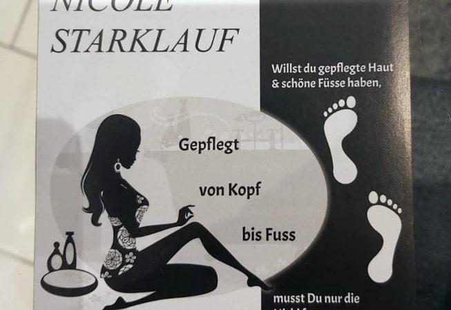 Flyer (Vorderseite) Nicole Starklauf